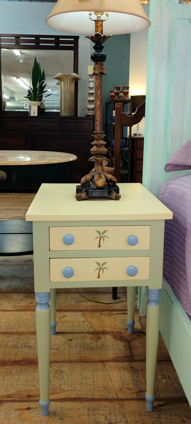 BR0065-Nightstand-2-palm-trees