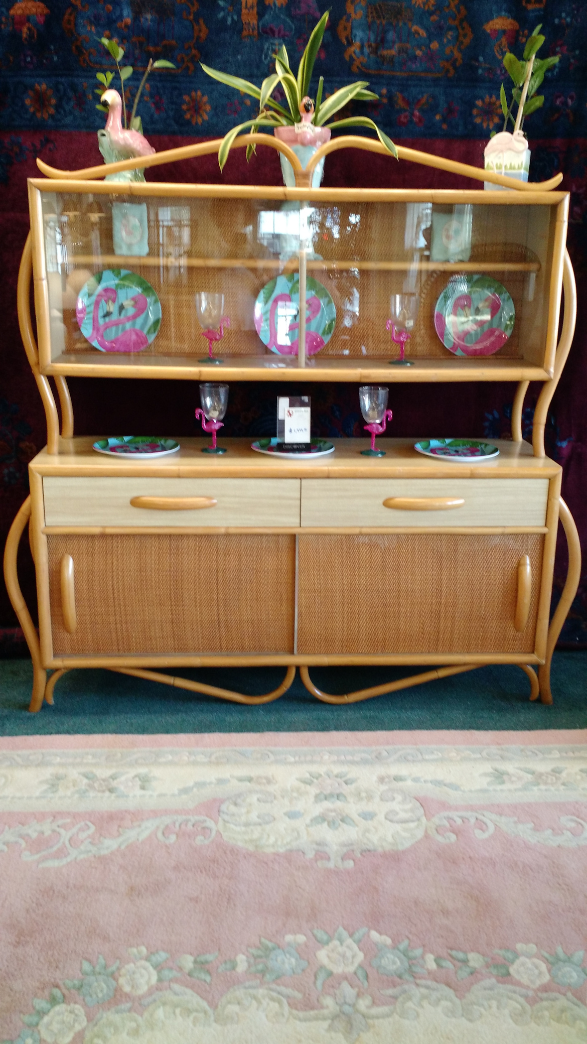 DR0010-Rattan-50s-china-cabinet