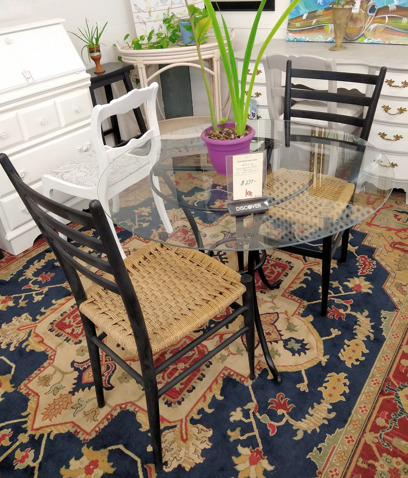 DR0092-Metalbase-table-2Italian-chairs