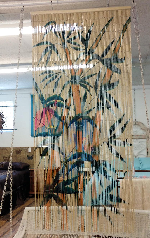 LA0055-Rattan-curtain