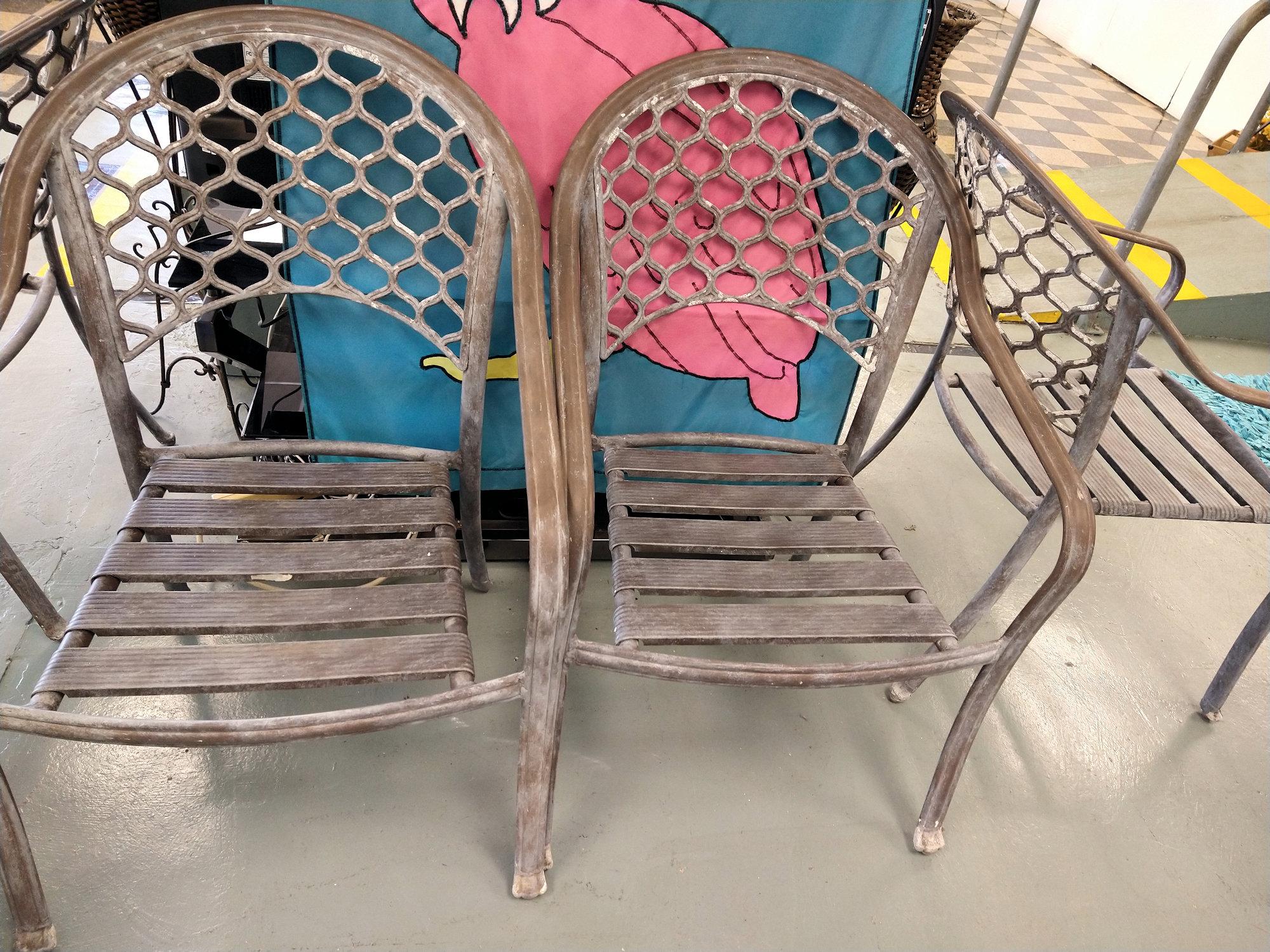 LA0064-Aluminum-Armchairs