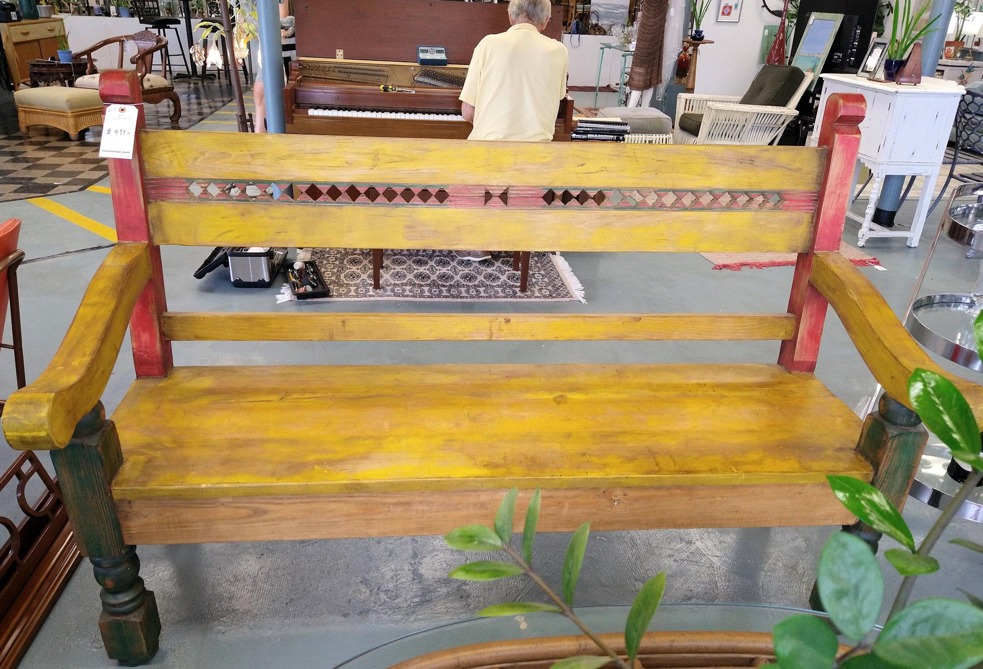 LA0076-Wood-Bench
