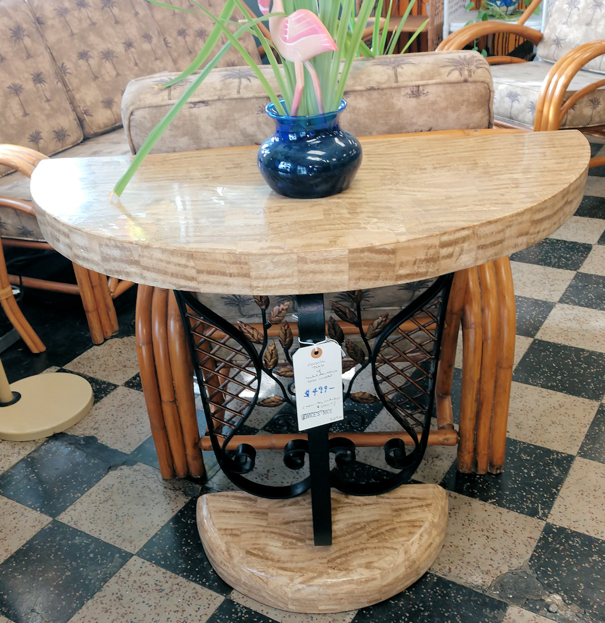 LR0226-Foyer-Table-Ironbase1
