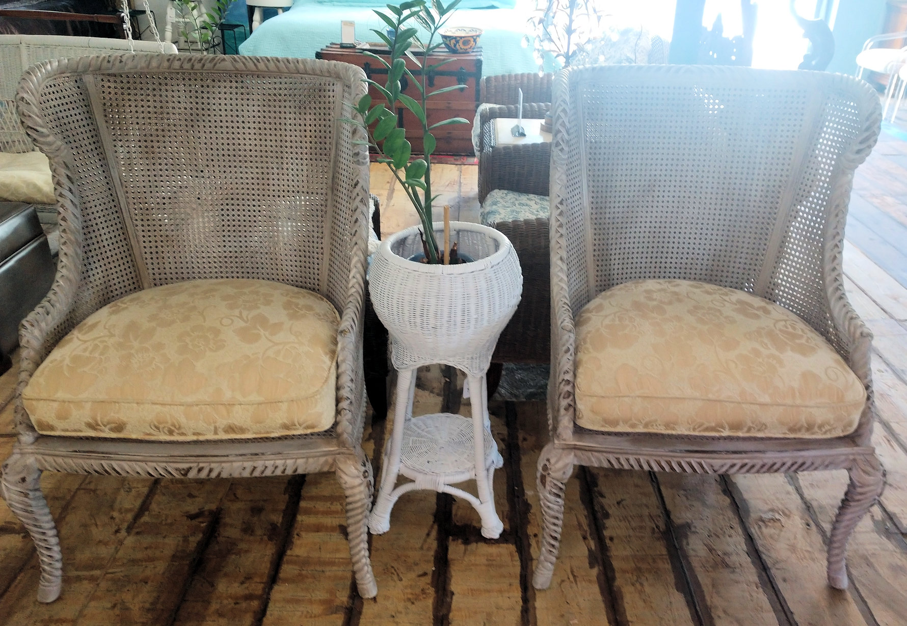 LR0274-Woven-Wingback-Chairs