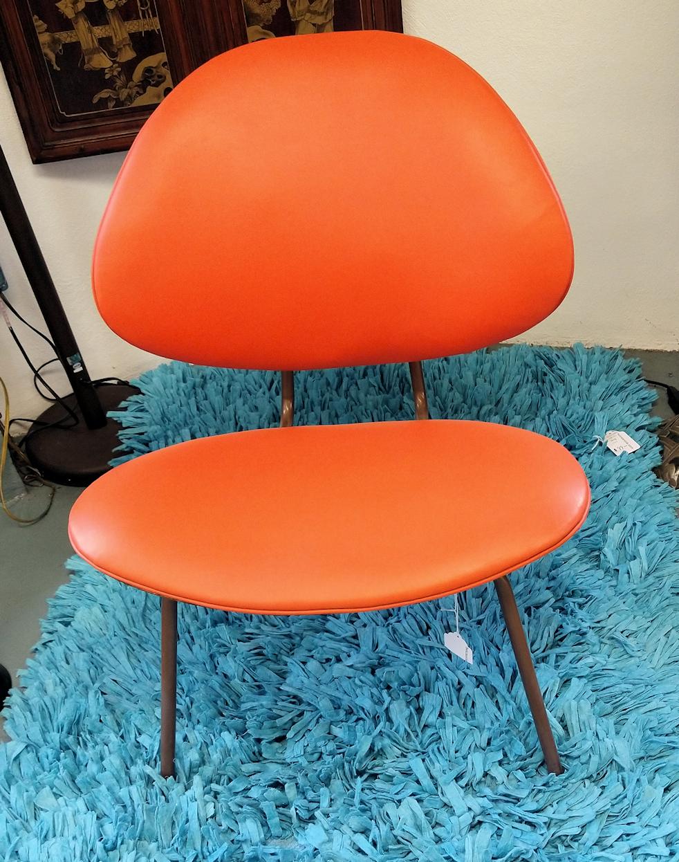 LR0331-Vintage-Orange-Chair