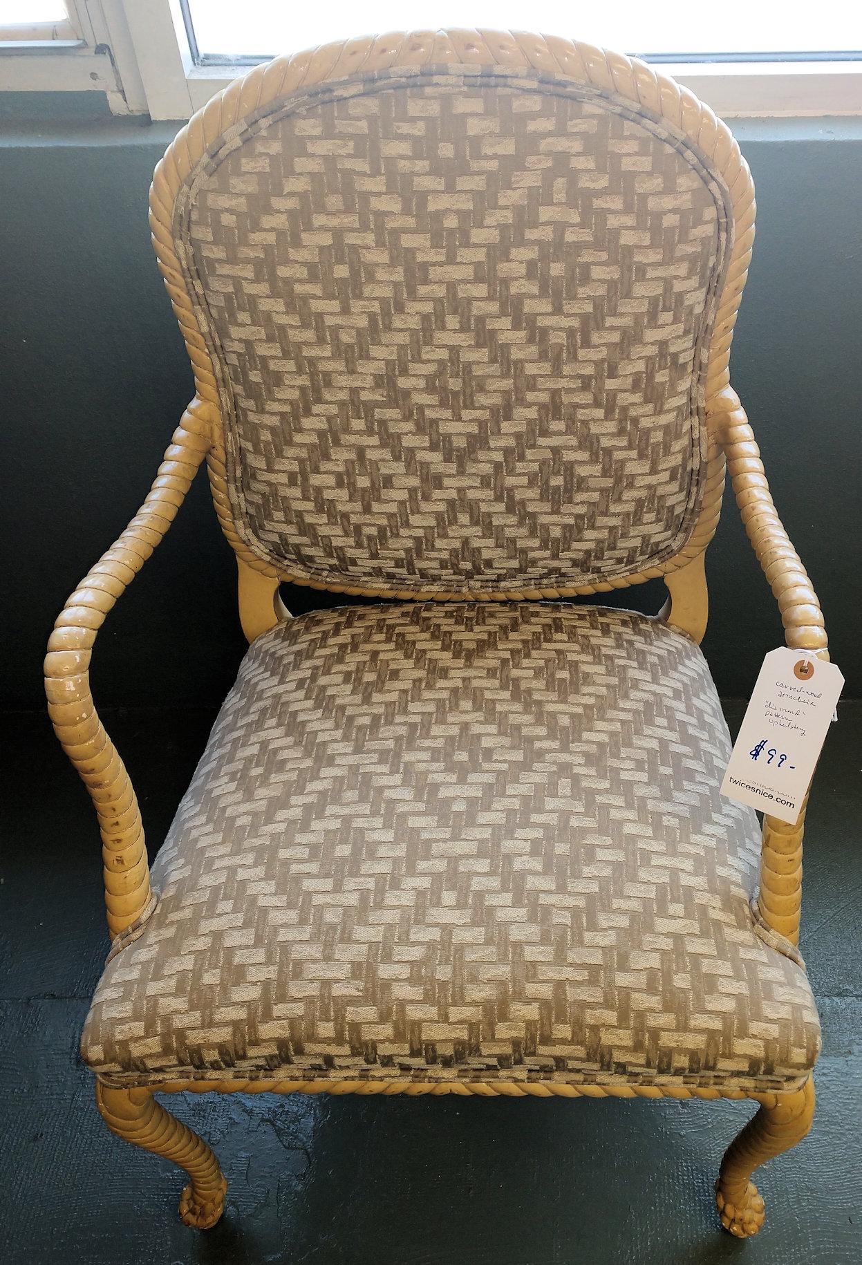 Lr0282-Chair-wood-diamondpattern
