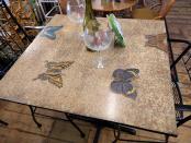 LA0060-ButterfliesPubPable-2stool-top