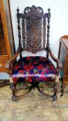 LR0081-Chairs-Ornate-Queen