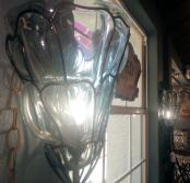 LT0049-Sconces-glass-metal-pair